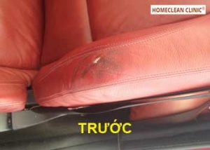 dịch vụ sửa chữa ghế da xe ô tô bị rách